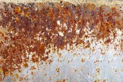 metallplattan rostade royaltyfri fotografi
