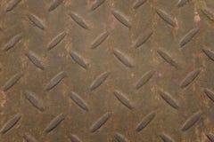 metallplattan rostade textur Fotografering för Bildbyråer