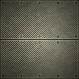 Metallplatten Lizenzfreie Stockbilder