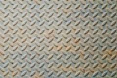 Metallplattenhintergrund Stockfoto