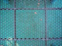 Metallplattform Stockfoto
