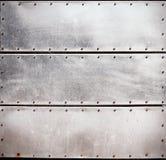 Metallplattor Royaltyfria Foton