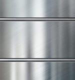 Metallplattor med den metalliska illustrationen för rörbakgrund 3d Royaltyfria Bilder