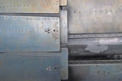 Metallplattor på de Royaltyfria Bilder