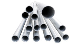 metallrør Arkivfoton
