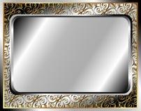 Metallramen Royaltyfria Foton