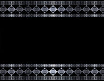 Metallrand stock abbildung