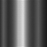 Metallrasterfeld Hintergrundvektor Lizenzfreie Stockbilder