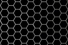 Metallrasterfeld-kleinere Zellen Lizenzfreies Stockbild