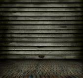 Metallraum stockfoto