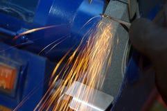 Metallreiben Lizenzfreie Stockfotos