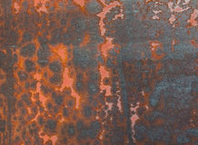 Metallrost-Beschaffenheits-Auszug Grunge Hintergrund Lizenzfreie Stockfotografie