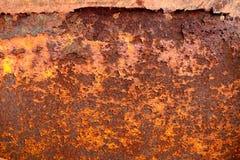 Metallrost-Beschaffenheits-Auszug Grunge Hintergrund Stockbild