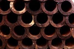 Metallrost-Beschaffenheits-Auszug Grunge Hintergrund Lizenzfreies Stockfoto