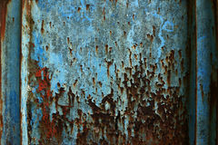 Metallrost-Beschaffenheits-Auszug Grunge Hintergrund Stockfotografie