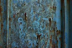 Metallrost-Beschaffenheits-Auszug Grunge Hintergrund Stockfotos