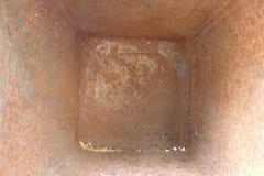 Metallrost-Beschaffenheits-Hintergrund Lizenzfreies Stockfoto