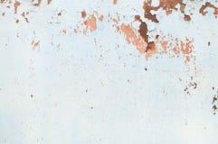 Metallrostbakgrund, grungerost och korrosionsbakgrundstextur arkivfoton