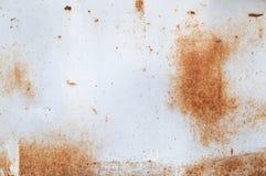 Metallrostbakgrund, grungerost och korrosionsbakgrundstextur arkivbilder