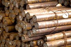 Metallrunde Billets Lizenzfreie Stockbilder