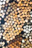 Metallrunde Billets Lizenzfreie Stockfotos