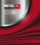 Metallsamt backgrund Vektor Abbildung