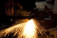 Metallsawing Stockfotografie