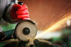 Metallsawingschleifer Stockbild