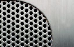 Metallschablonenhintergrund Lizenzfreies Stockbild