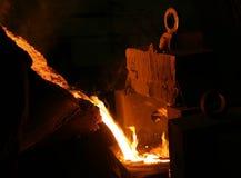 Metallschneidend Lizenzfreies Stockfoto