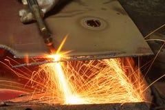 Metallschneidend Lizenzfreie Stockbilder