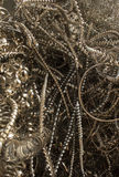 Metallschnitzel vorbereitet für die Wiederverwertung stockbild