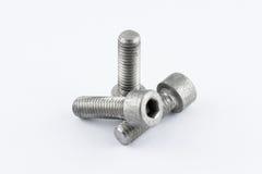 Metallschrauben Lizenzfreie Stockfotografie