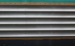 Metallseitenkonsole des antiken Busses Stockfoto