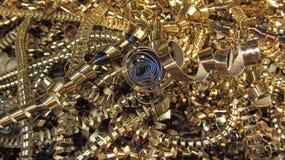 MetallShavings Fotografering för Bildbyråer