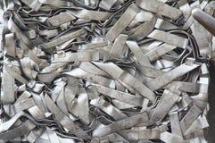 Metallshavings, textur royaltyfri bild