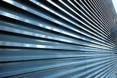 Metallsicherheitsfensterläden Lizenzfreie Stockfotos