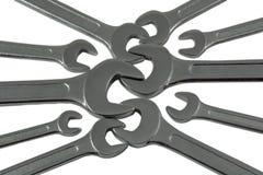 Metallskruvnycklar arkivfoto
