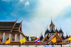 Metallslott i Bangkok Fotografering för Bildbyråer