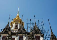 Metallslott i Thailand Royaltyfria Foton