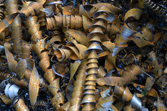 Metallspiral Arkivfoto