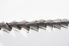 Metallspirale Stockfotografie