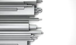 Metallstång vektor illustrationer