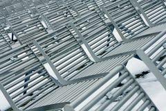 Metallstühle Stockfotos