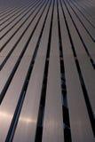 Metallstab-Wand Stockbild