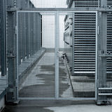 Stahltür Lizenzfreie Stockfotografie