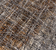 Metallstaketabstrakt begrepp Arkivbild
