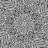 Metallsternkaleidoskop   Stockfotografie
