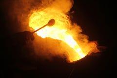 Metallströmende Arbeitskraft lizenzfreie stockfotos