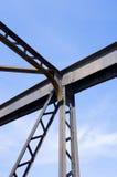 Metallstruktur Arkivfoton